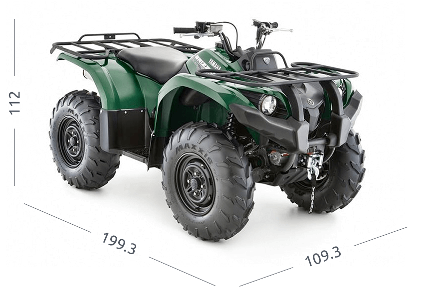 Yamaha Grizzly 450